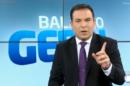 Reinaldo Gottino no comando do Balanço Geral SP; apresentador humilhou a Globo no ibope em seu último programa (Foto: Reprodução/Record)