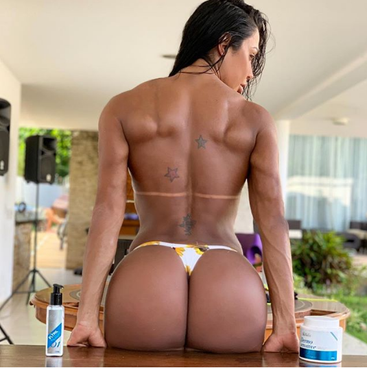 Gracyanne Barbosa (Foto: Reprodução/ Instagram)