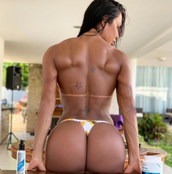 Gracyanne Barbosa corpo (Foto: Reprodução/Instagram)