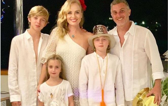 Família de Luciano Huck e Angélica (Foto: Divulgação)