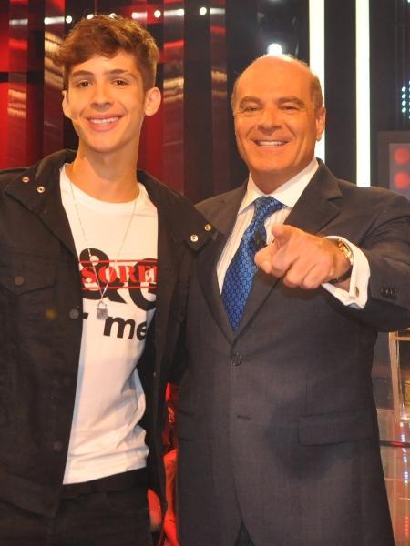 João Guilherme na RedeTV (Foto: Divulgação)