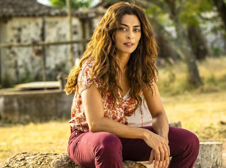 A atriz Juliana Paes será Maria da Paz em A Dona do Pedaço, nova novela da Globo. TV Globo/João Miguel Jr.)