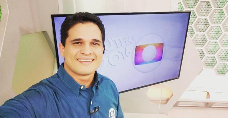 O apresentador do Globo Esporte no Ceará, Kaio Cézar (Foto: Reprodução)