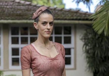 Mimi (Luciana Paes) em Espelho da Vida (Foto: Paulo Belote/ Globo/ Divulgação)