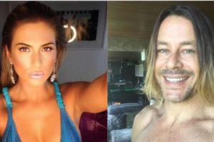 Lívia Andrade e Theo Becker (Foto: Reprodução/Montagem)