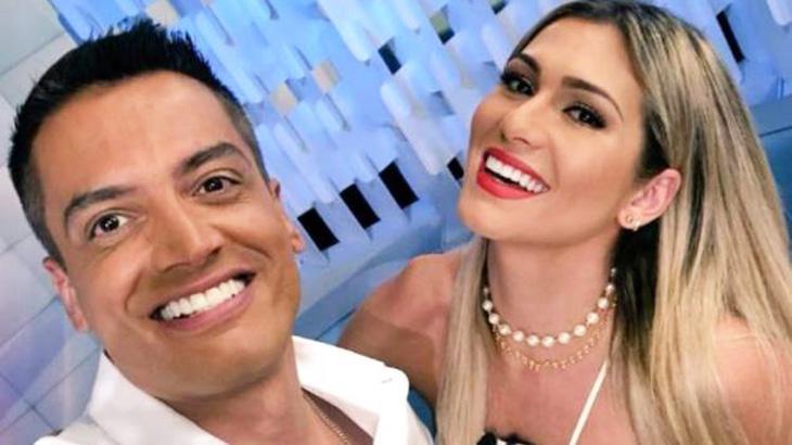 Leo Dias e Lívia Andrade (Foto: Reprodução)