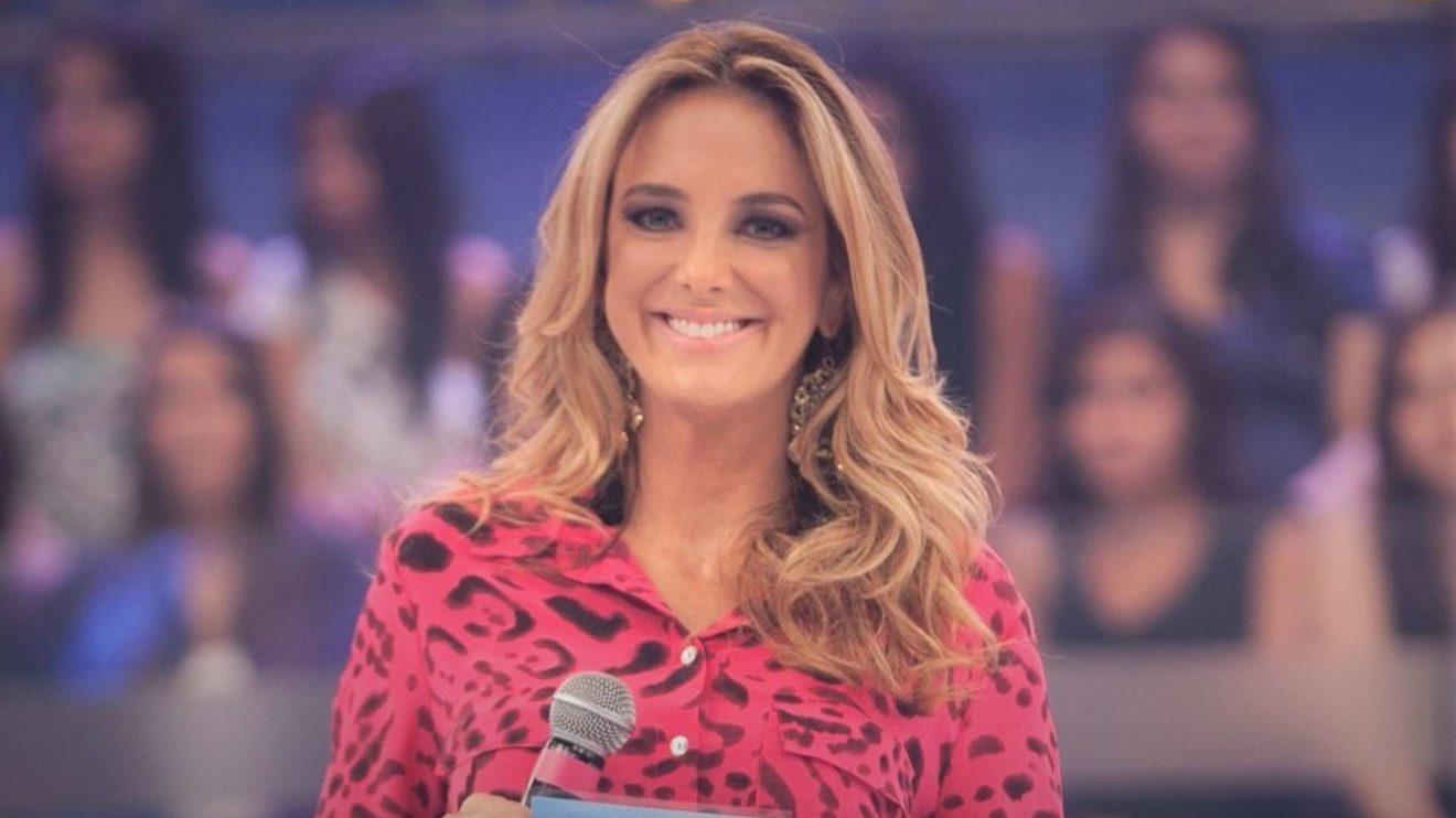 Ticiane Pinheiro está grávida pela segunda vez (Foto: Reprodução/Record)