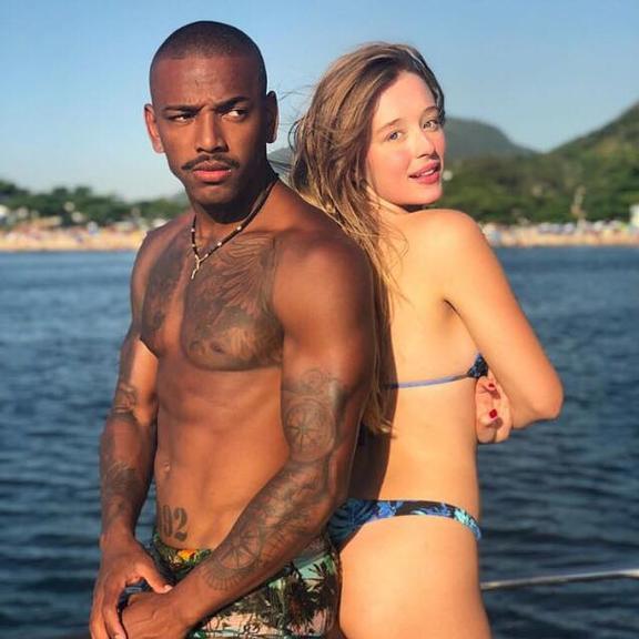 Nego do Borel e a atriz Duda Reis (foto: reprodução/instagram)