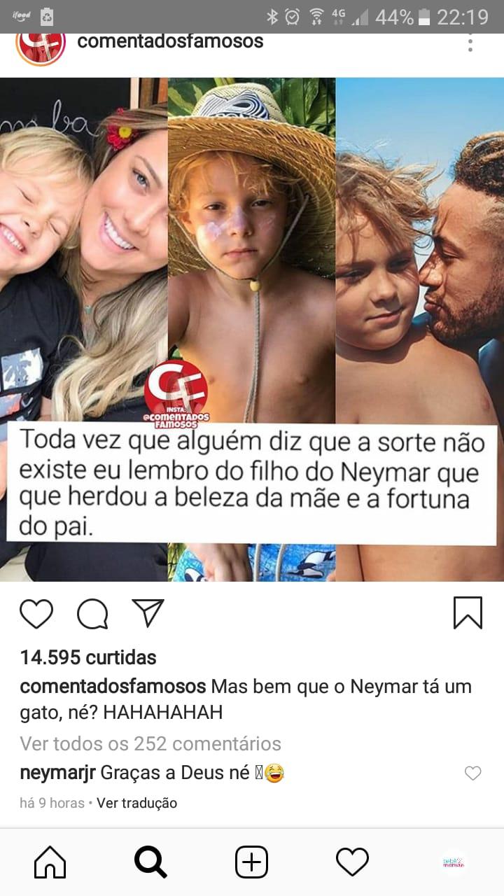 Neymar deixou seu recado