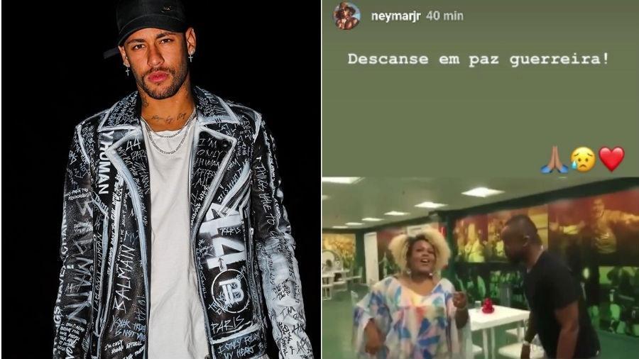 Neymar presta homenagem para Neymar (Foto: Reprodução/Instagram)