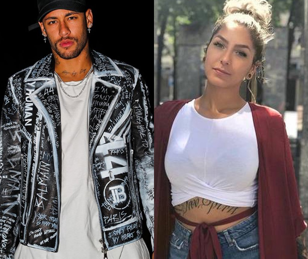 Neymar e Liza Brito tiveram uma noite quente (Foto: Reprodução/Instagram)