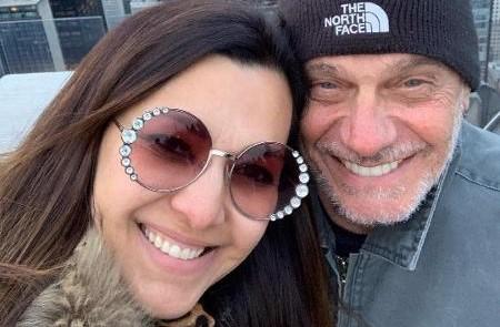 Veruska Seibel e Ricardo Boechat, que morreu após um acidente de helicóptero (Foto: Reprodução/Internet)