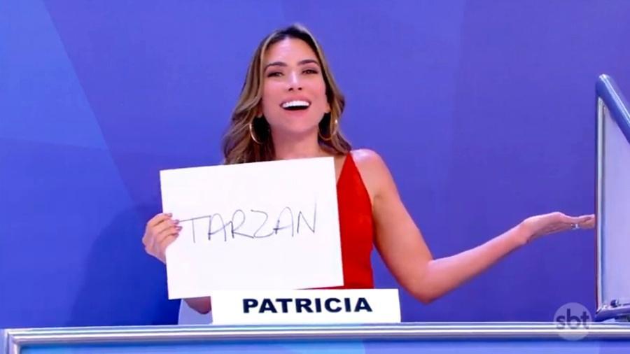 Patrícia Abravanel no Programa Silvio Santos do SBT (Foto: Divulgação)