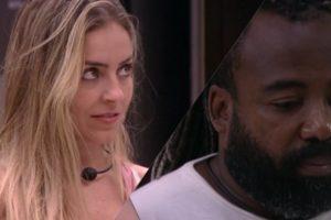 Paula mostra preconceito contra Rodrigo no BBB19