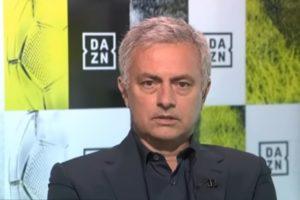 José Mourinho comentou partida da Sul-Americana exibida pela RedeTV!. (Foto: Reprodução/YouTube)