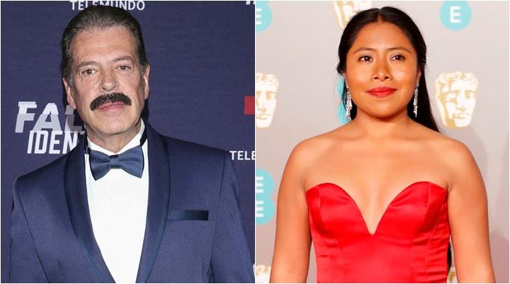 Ator Sergio Goyri insultou Yalitza Aparicio, que está indicada ao Oscar. (Foto: Montagem/Divulgação)