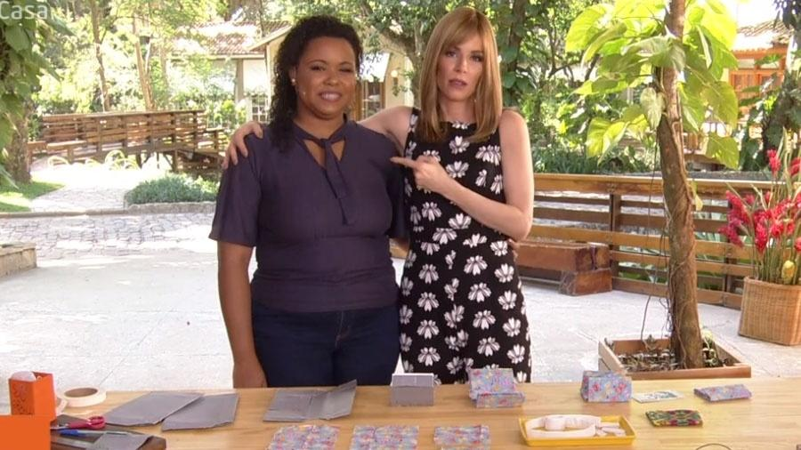 Musa dos 3 reais e Ana Furtado (Foto: TV Globo)