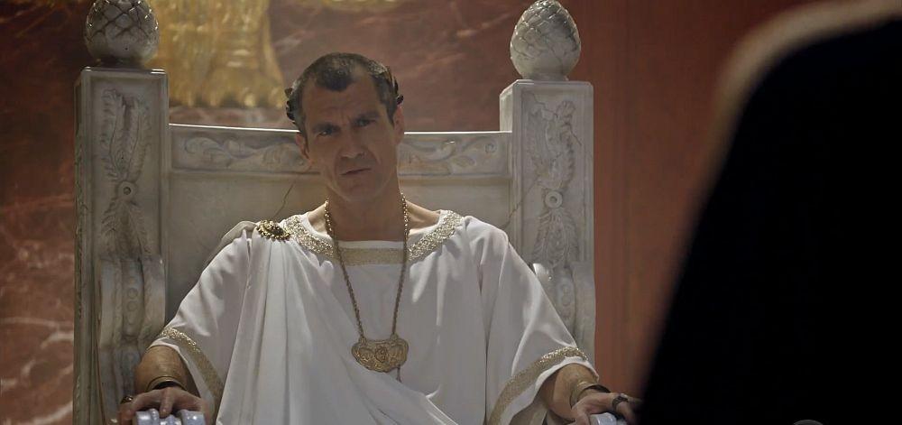 Pilatos na novela Jesus (Foto: Reprodução/ Record)