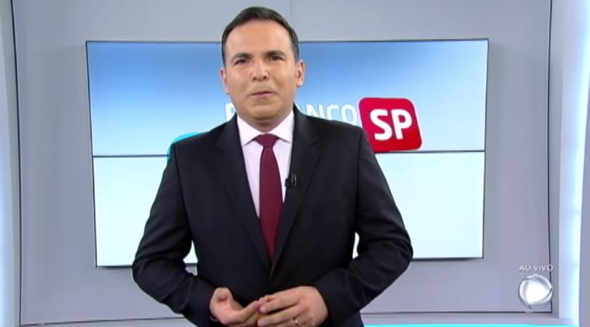 Reinaldo Gottino agora é contratado da CNN Brasill (Foto: Reprodução/Record)