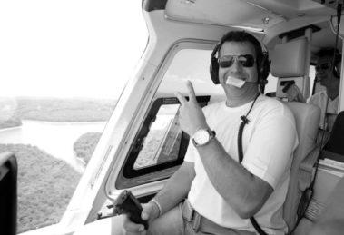 Ronaldo Quattrucci, piloto morto em acidente com Ricardo Boechat — (Foto: Reprodução/Facebook)