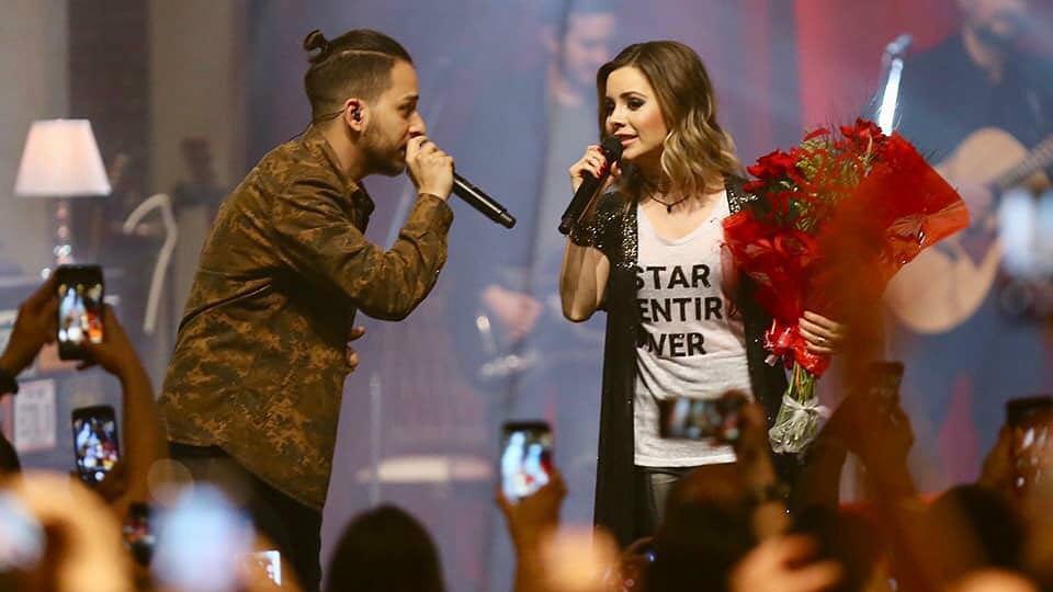 Sandy & Júnior volta a cantar junto em turnê (Foto: Reprodução)