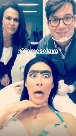 Simaria chegou a se comparar com Frida Kahlo (Foto: Reprodução/Instagram)