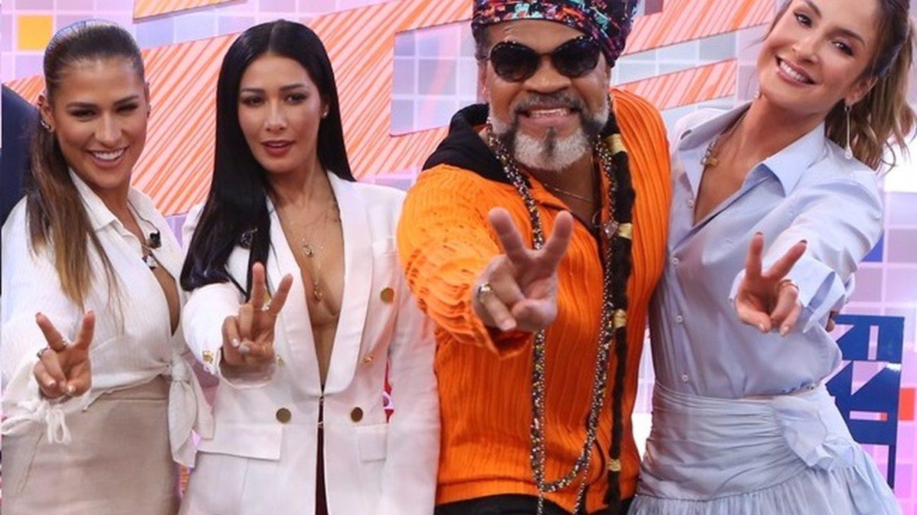 Simone e Simaria são rivais de Carlinhos Brown e Claudia Leitte no The Voice Kids (Foto: Isabella Pinheiro/Gshow)