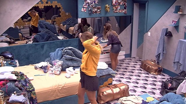 Isabella e Carolina no BBB19
