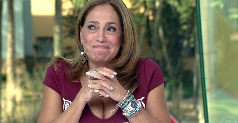 Susana Vieira durante participação do Vídeo Show na Globo