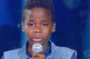 O candidato Jeremias Reis caiu no choro no The Voice Kids (Foto: Reprodução/Globo)