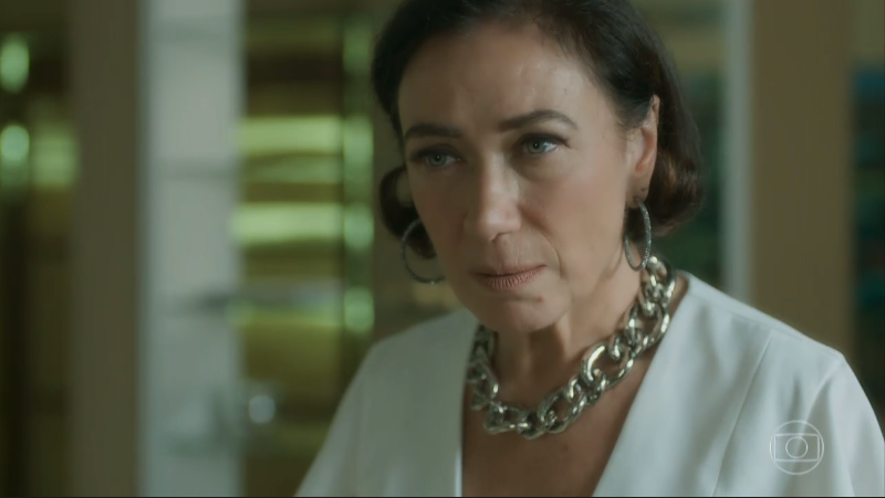 Valentina (Lília Cabral) em O Sétimo Guardião (Foto: Reprodução/Globo)