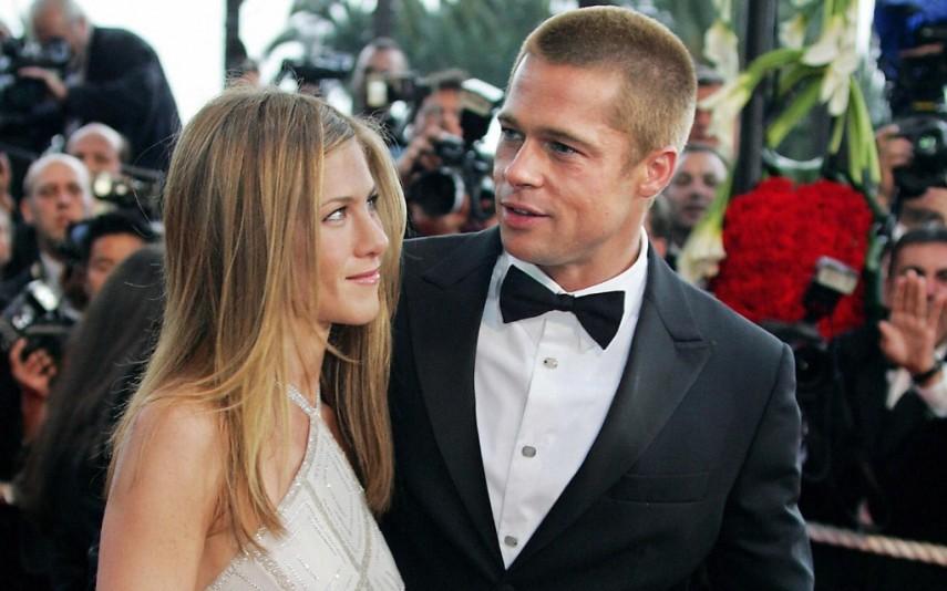 Brad Pitty e Jennifer Aniston já foram um casal no passado (Foto: Reprodução)