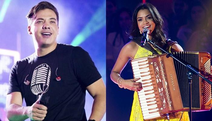 Os cantores Wesley Safadão e Lucy Alves (Foto: Divulgação)