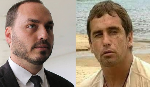 Carlos Bolsonaro ganhou o apelido de Tonho da Lua, personagem de novela da Globo (Foto: Reprodução)