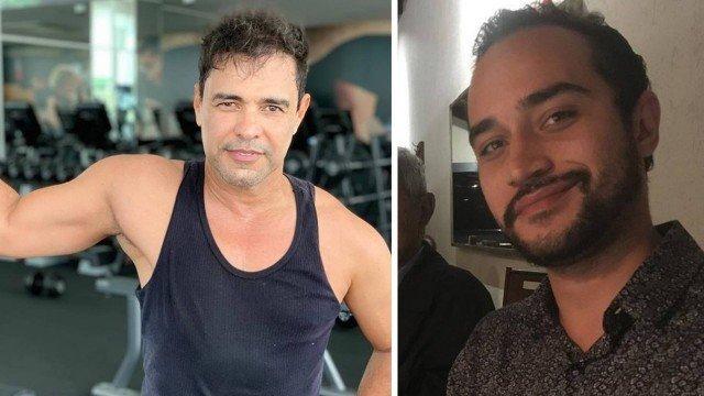 Zezé di Camargo e o sobrinho, filho de Luciano, Wesley (Foto: Divulgação)