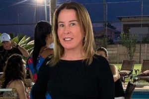A socialite e ex-mulher de Zezé Di Camargo, Zilu (Foto: Reprodução)
