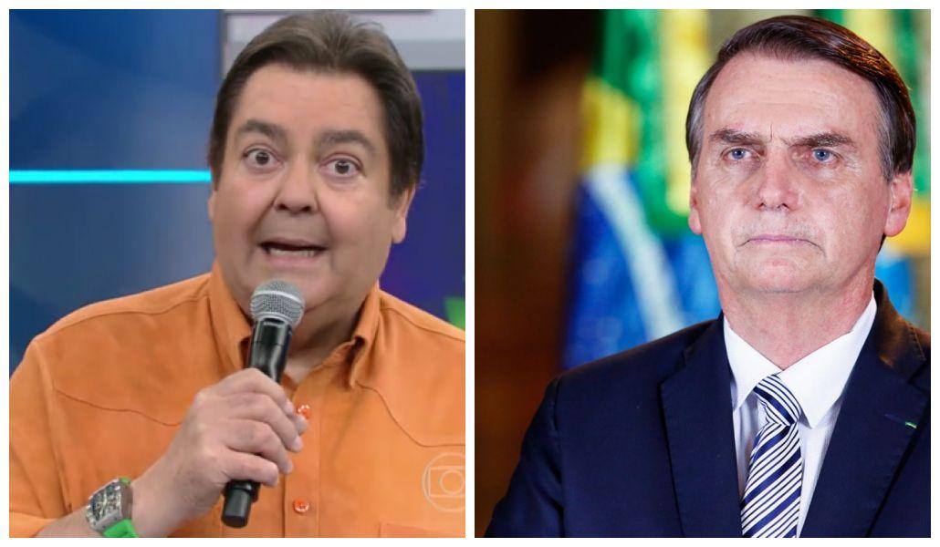Faustão detona o presidente Jair Bolsonaro, e ator convidado defende