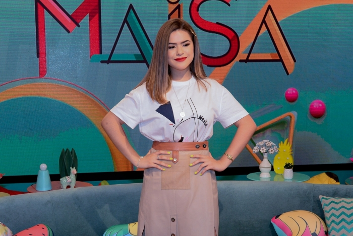 Programa da Maisa bateu recorde na estreia (Foto: Reprodução/Globo)