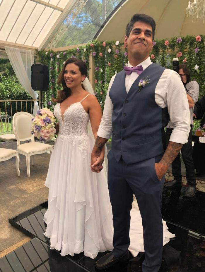Ex-marido de Lulu Santos se casou com uma mulher (Foto: Reprodução)