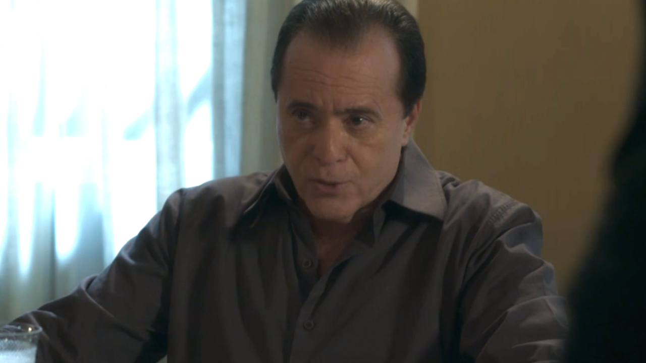 Olavo (Tony Ramos) em cena na novela O Sétimo Guardião, da Globo. (Foto: Reprodução)