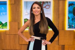 A apresentadora da Globo, Patricia Poeta (Foto: Divulgação)