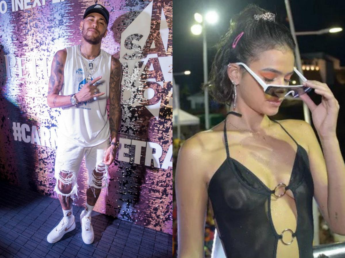 Neymar e Bruna Marquezine estão evitando se encontrar no Carnaval de Salvador (Foto: Reprodução)