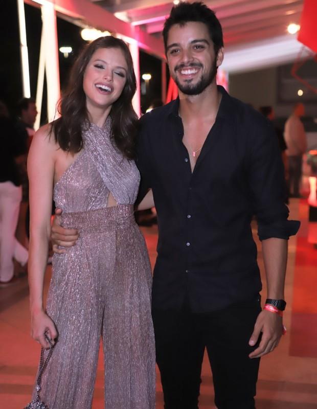 Agatha Moreira e Rodrigo Simas (Foto: Daniel Pinheiro/AgNews)