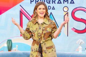 Maisa em seu programa no SBT (Foto: Gabriel Cardoso/SBT)