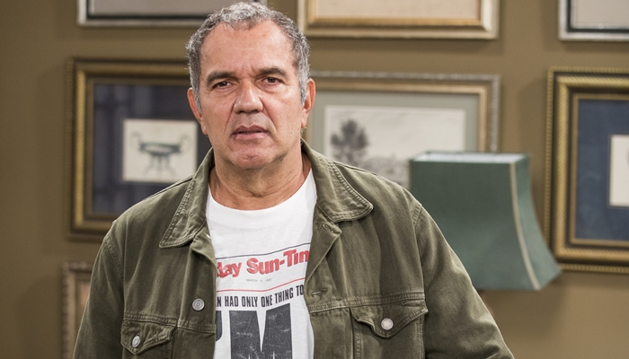 O ator Humberto Martins na novela Verão 90 (Foto: Globo/Victor Pollak)