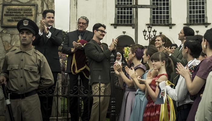 Murilo Benício (Adriano) em cena da minissérie Se Eu Fechar os Olhos Agora (Foto: Globo/Maurício Fidalgo)