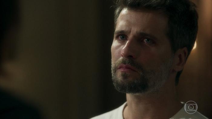 Gabriel (Bruno Gagliasso) em cena de O Sétimo Guardião (Foto: Reprodução/Globo)