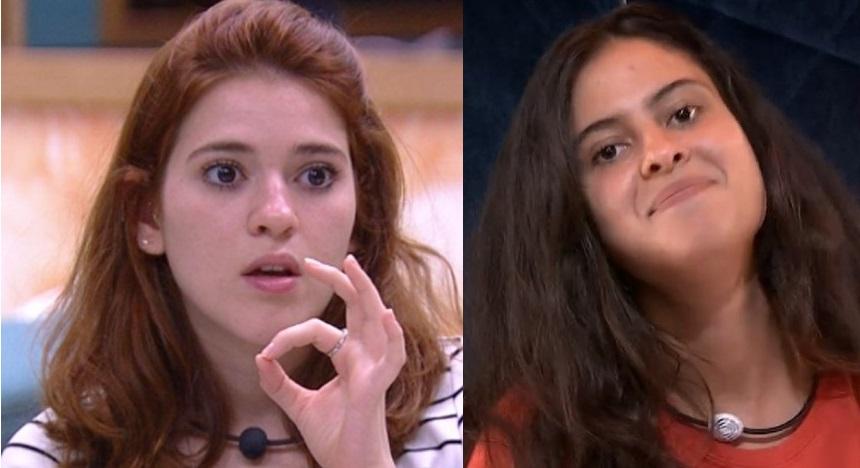 Ana Clara e Hana do BBB19 (Foto: Reprodução/ Globo)