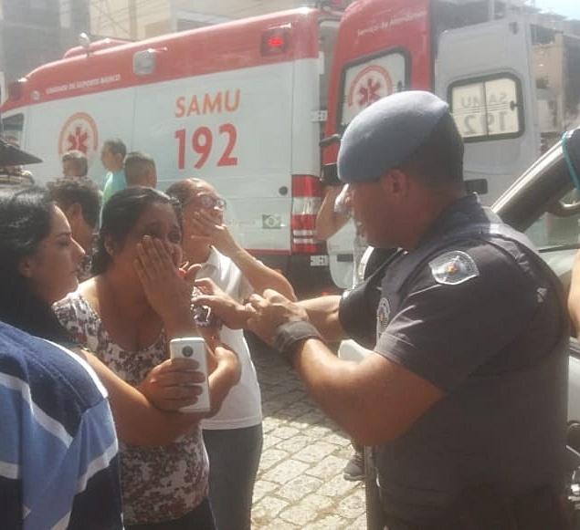 Alunos foram vítimas de massacre (Foto: Twitter/UOL)