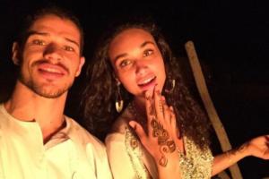 José Loreto e Débora Nascimento voltaram a ficar juntos (Foto: Reprodução)
